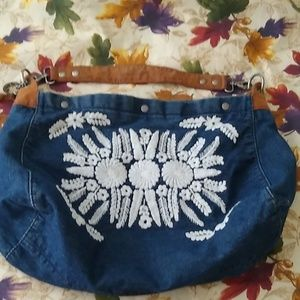 Lucky Brand Denim Tote
